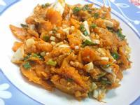 南瓜炒鹹蛋