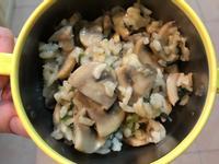 奶油蘑菇蝦仁燉飯[寶寶食譜]