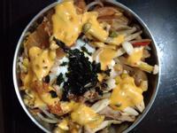 韓式豬肉泡菜丼飯