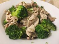 豬肉炒青花菜