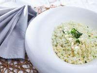 低醣料理 <蔬菜> 檸檬蒜香花椰飯