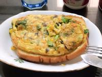 【小鍋】烘蛋捲~玉米洋蔥香菇青江菜