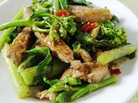 【厚生廚房】沙茶芥藍豬柳