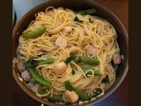 蒜味鮮蝦義大利麵