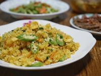 秋葵黃金蛋炒飯