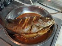 蒜香紅燒魚(簡易料理)