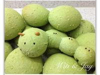 [Witi✿Kitchen](麵包機-麵包)抹茶韓式麻吉麵包