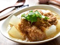冬瓜排骨酥湯(氣炸排骨)