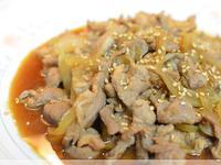 味噌炒豬肉非常下飯唷!!