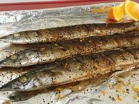 鹽烤秋刀魚(さんま焼き)