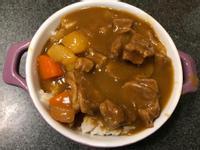 日式甘口咖喱飯(無油煙料理)
