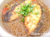 ♥我的手作料理♥ 鮮魚粉絲煲
