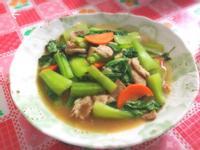 青江菜炒沙茶