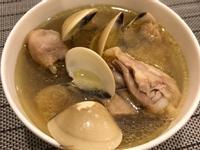 山葵蛤蜊雞湯