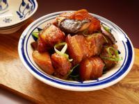 杏鮑菇紅燒肉【萬用鍋版】