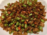 肉末四季豆