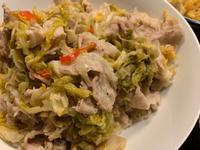 五花肉炒酸白菜