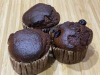 比伊氣炸鍋~巧克力藍莓瑪芬