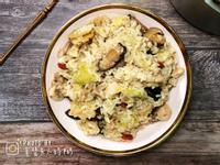 ☀️高麗菜香菇麻油雞飯☀️飛利浦萬用鍋