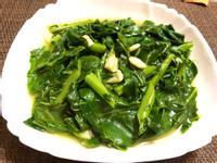 蒜炒綠橄欖菜