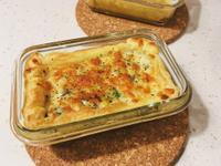 奶油白醬鮮蔬焗烤酥皮鹹派