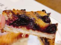 藍莓披薩(焗烤藍莓厚片吐司)