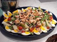 尼斯風味鮮蝦沙拉