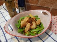 XO醬炒四季豆嫩雞