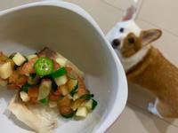 夏日鯛魚佐莎莎醬—健康滿分狗點心