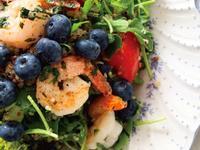 夏日輕食‧藜麥檸檬鮮蝦沙拉