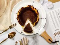 生酮低醣西班牙巴斯克乳酪蛋糕6吋氣炸鍋版