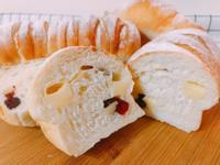氣炸鍋+麵包機料理-蔓越莓乳酪麵包