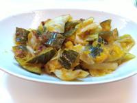 南瓜高麗菜 拌干貝醬
