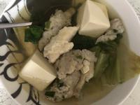 生菜魚肉蝦滑湯
