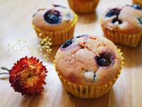 一根攪拌棒完成🥄低糖藍莓瑪芬