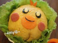 Kitty喵-小雞蛋包飯