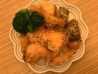 酥炸鮭魚(氣炸鍋)