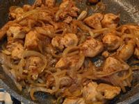 黑胡椒洋蔥雞肉(失敗)