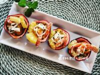 南洋料理達人劉明芳--百香果蜂蜜鳳梨蝦球