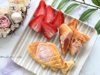 草莓煉乳湯圓爆漿鯛魚燒