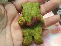 耶誕熊抱餅乾
