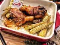 簡易配方聖誕醬燒烤雞腿-口西