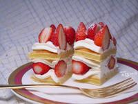 鬆餅機食譜|草莓奶油蛋糕