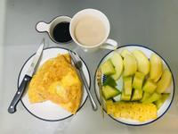 古早味手作早餐:厚切滿蔥蛋餅