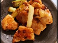 青蔥炒雞肉(露營OK)