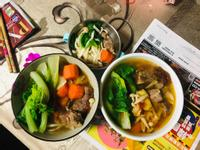 清燉牛肉湯麵(電鍋料理