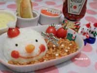 【亨氏番茄醬 100% 純天然】下雪囉!雪人義大利肉醬飯飯