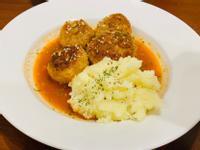新豬肉_番茄醬肉丸