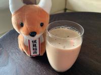 DIY_帶渣蘋果牛奶