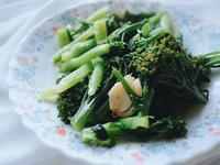 清炒蒜香青花菜